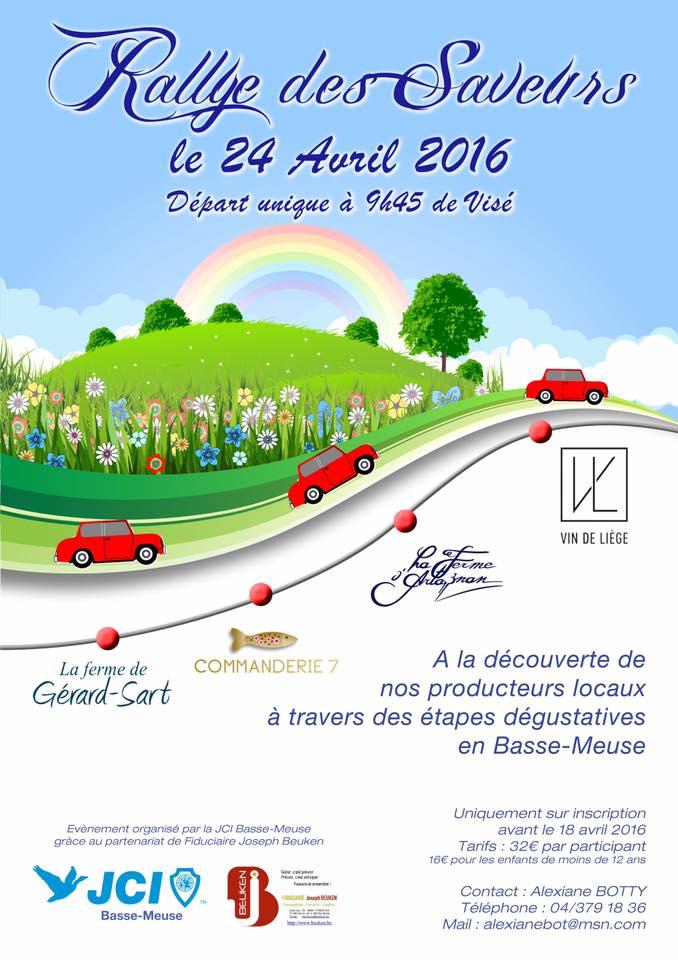 Rallye des Saveurs 2016