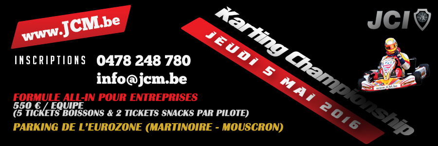 JCI Mouscron Karting