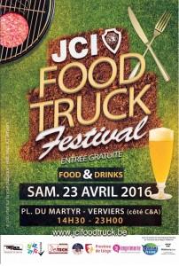 LOGO AFFICHE JCI FOOD TRUCK 2016