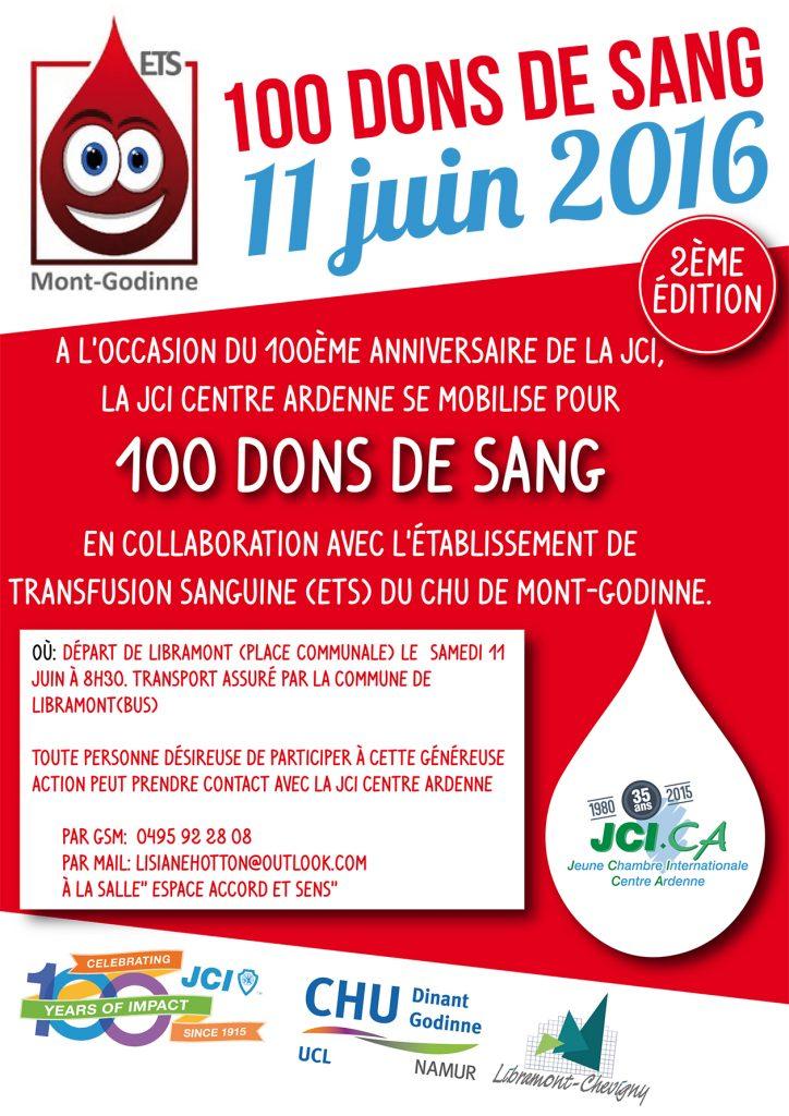 Affiche don de sang JCICA