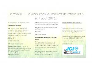 Week-end Gaumais - Invit et programme - Viens nous voir aux Workshops des Assises