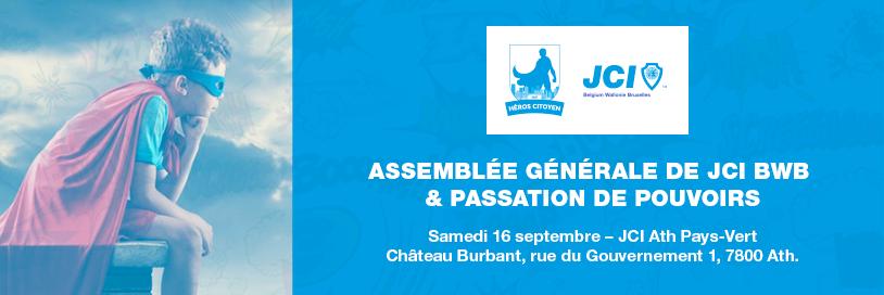 JCI BWB - AG de Passation - Septembre 2017